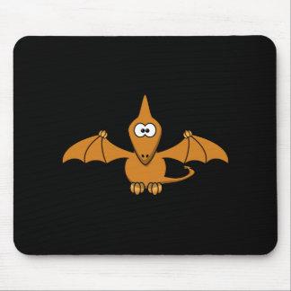 Pterodactyl lindo Mousepad de Brown Tapete De Ratón