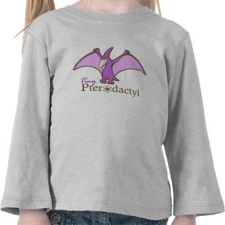 Pterodactyl minúsculo, púrpura camisetas