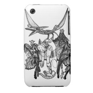 pterodactyl pilot Case-Mate iPhone 3 case