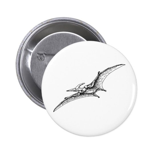 Pterodactyl Pinback Button