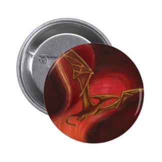 pterodactyl Round Button