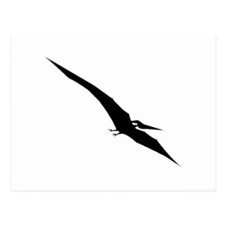 Pterodactyl Silhouette Post Cards