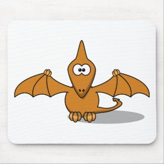 Pterodactyl Toony Art Mousepad