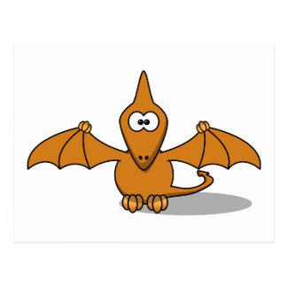 Pterodactyl Toony Art Postcard