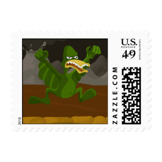 Pteroductyl Postage Stamps