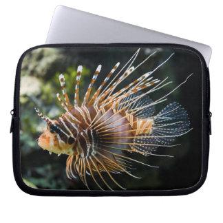 Pterois Antennata Broadbarred Firefish Lionfish Laptop Sleeve