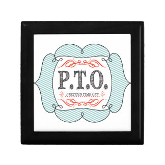 PTO PRETEND TIME OFF GIFT BOX
