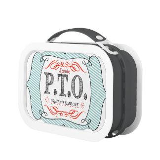 PTO PRETEND TIME OFF LUNCH BOX