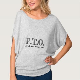 PTO PRETEND TIME OFF SHIRTS