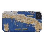 Ptolemaic Map of Italy, 1482 (coloured litho) iPhone 4 Case