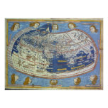 Ptolemaic World Map Print