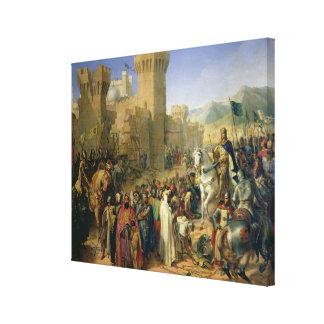 Ptolemais given to Philip Augustus Canvas Print