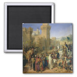 Ptolemais given to Philip Augustus 2 Inch Square Magnet