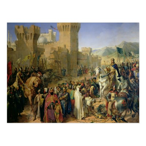 Ptolemais given to Philip Augustus Postcard