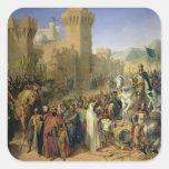 Ptolemais given to Philip Augustus Square Sticker