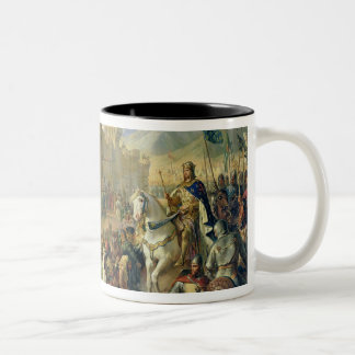 Ptolemais given to Philip Augustus Two-Tone Coffee Mug