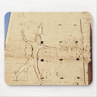 Ptolemy XII  smiting his enemies Mouse Pad
