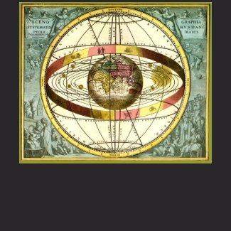 Ptolemy's Universe DARK shirt