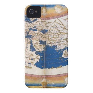 Ptolemy's world map Case-Mate iPhone 4 case