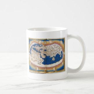 Ptolemy's world map coffee mug