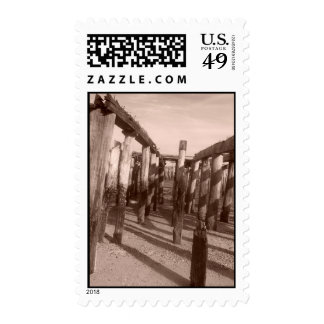 Ptown Pier Postage Stamps
