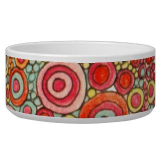 Ptown Poppy Dog Bowl