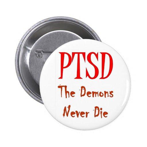 PTSD 2 INCH ROUND BUTTON