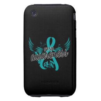 PTSD Awareness 16 Tough iPhone 3 Cover