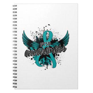 PTSD Awareness 16 Spiral Notebook