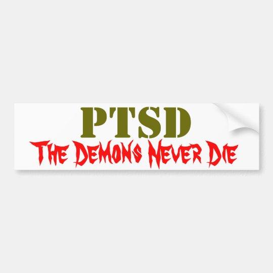 PTSD BUMPER STICKER