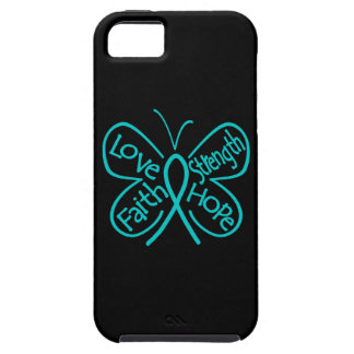 PTSD Butterfly Inspiring Words iPhone 5 Cover