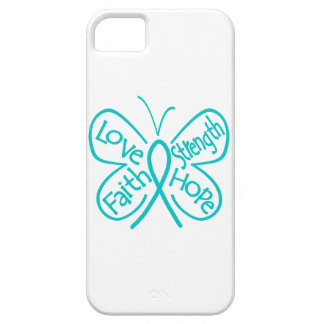 PTSD Butterfly Inspiring Words iPhone 5 Covers