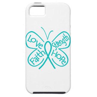 PTSD Butterfly Inspiring Words iPhone 5 Case