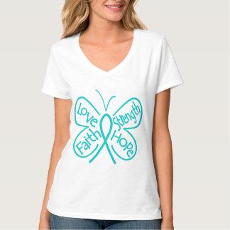 PTSD Butterfly Inspiring Words T Shirt