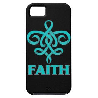 PTSD Faith Fleur de Lis Ribbon iPhone 5 Case