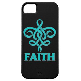 PTSD Faith Fleur de Lis Ribbon iPhone 5 Cover