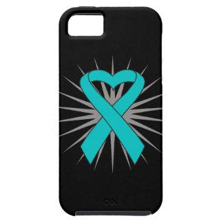 PTSD Heart Awareness Ribbon iPhone 5 Case