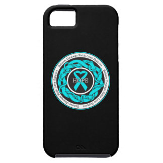 PTSD Hope Intertwined Ribbon iPhone 5 Cases