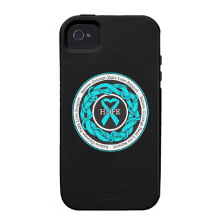 PTSD Hope Intertwined Ribbon iPhone 4/4S Case