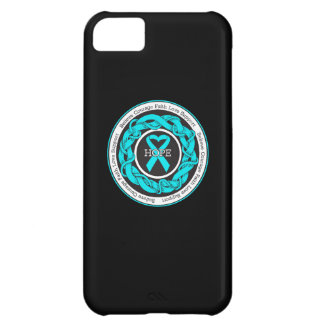 PTSD Hope Intertwined Ribbon iPhone 5C Cases