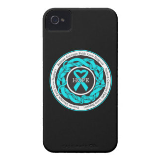PTSD Hope Intertwined Ribbon iPhone 4 Case-Mate Case