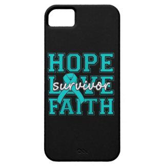PTSD Hope Love Faith Survivor iPhone 5 Cover