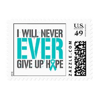 PTSD I dará nunca nunca para arriba esperanza Sello
