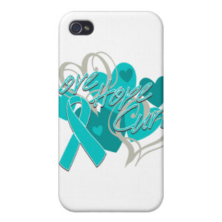 PTSD Love Hope Cure Cases For iPhone 4