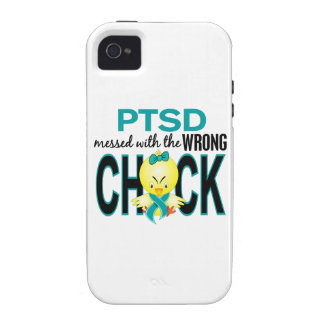 PTSD Messed With Wrong Chick iPhone 4 Cases