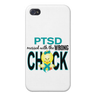 PTSD Messed With Wrong Chick Covers For iPhone 4