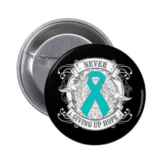 PTSD Never Giving Up Hope 2 Inch Round Button