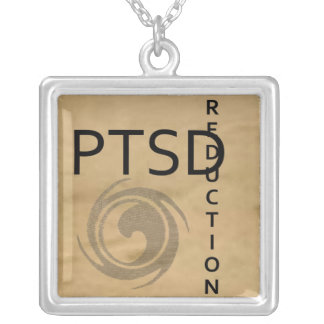 ptsd reduction silver plated necklace