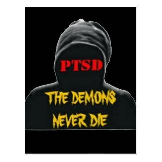 PTSD: THE DEMONS NEVER DIE POSTCARD