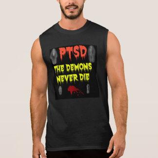 PTSD THE DEMONS NEVER DIE SLEEVELESS SHIRT